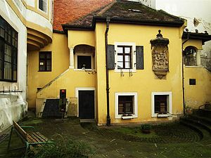 Johann Nepomuk Hummel - Hummel's birthplace in Klobucnicka Street, Bratislava