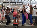 Johannesburg children and youth during Sunday's Roof Market in Rosebank 01.jpg
