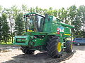 John Deere 9860STS combine, Kindred ND 20090801.jpg