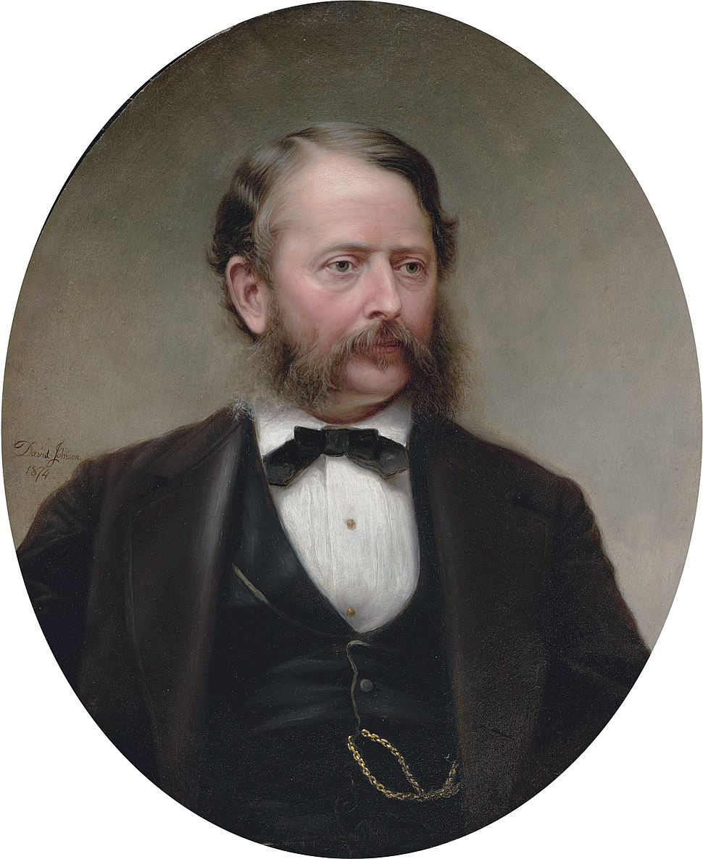 John Frederick Kensett, by David Johnson