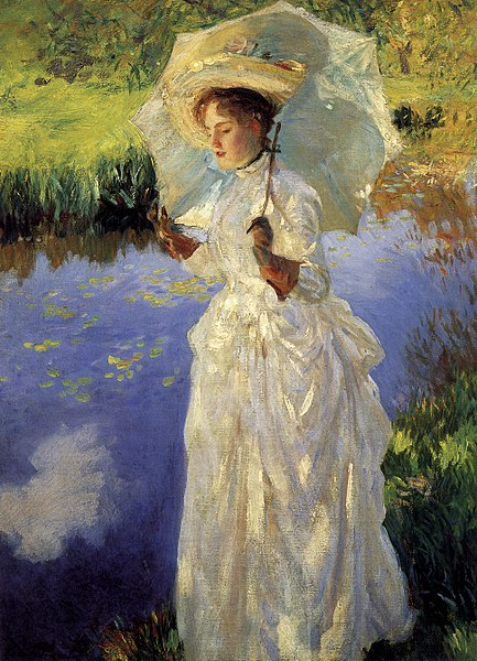 File:John Singer Sargent - Morning Walk.jpg