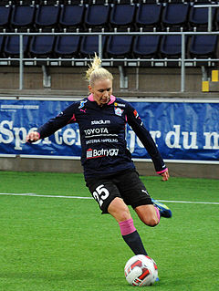 Jonna Andersson Swedish association football player