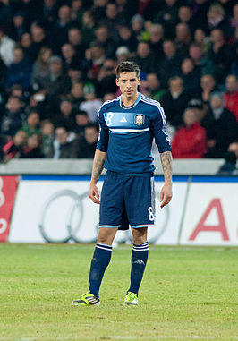 Jose Sosa - Switzerland vs. Argentina, 29th February 2012.jpg