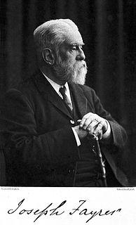 Joseph Fayrer British baronet