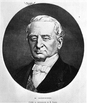 Schneider-Creusot - Joseph Eugène Schneider (1805-1875)