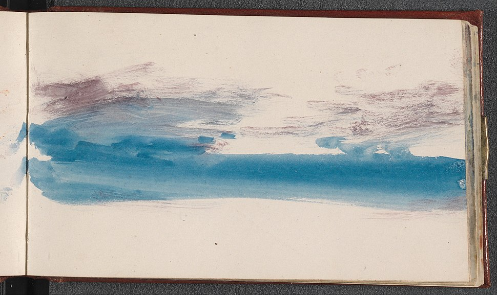 Joseph Mallord William Turner - The Channel Sketchbook - Google Art Project