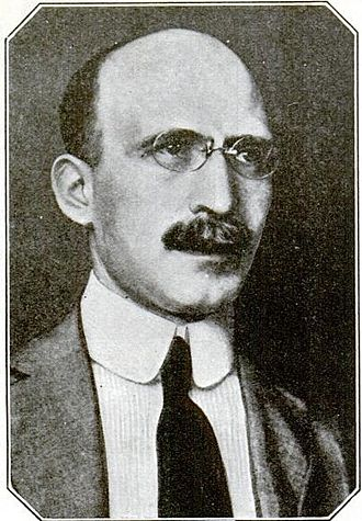 Joseph Tykociński-Tykociner - Photo published in 1922