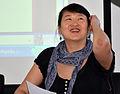 Journée Wikipédia, objet scientifique 2013 Cécile Poudat Linguiste.JPG