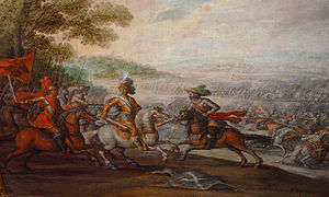 Battle of Pavia - The Battle of Pavía by Juan de la Corte.