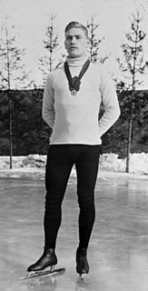 Julius Skutnabb speed skater