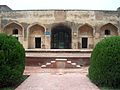 July 9 2005 - The Lahore Fort-Close up of sleeping chambers of the emperor.jpg