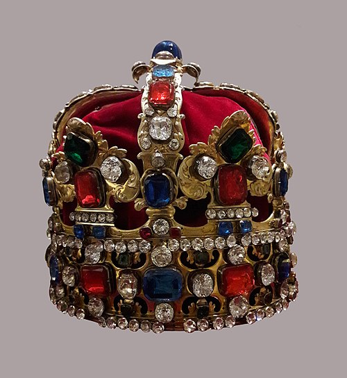 Crown of Augustus III of Poland