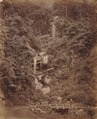 KITLV 92137 - Unknown - Waterfalls at Coonoor in India - Around 1870.tif