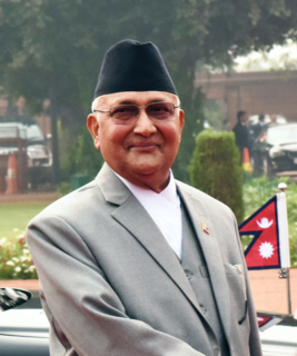 KP Sharma Oli Nepalese politician and current Prime minister of Nepal