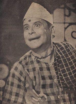 K. Sarangkapani - K. Sarangapani in 1951 film Mohana Sundaram