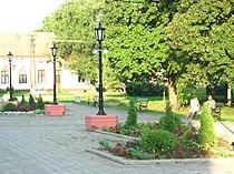 Kačarevo, town centre.jpg