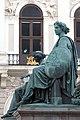 Kaiser Franz-Denkmal Hofburg Wien 2015 Sitzfiguren Stärke Gerechtigkeit 3.jpg