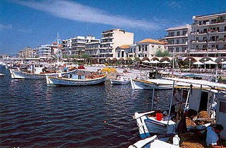 Kalamata Place in Greece