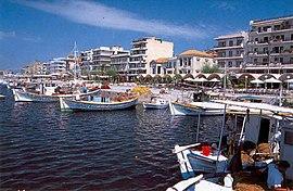 Kalamata greece City Kalamata s promenade