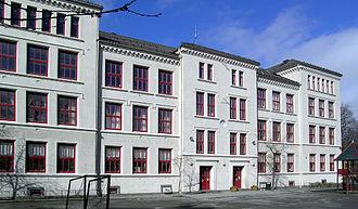 Ole Falck Ebbell - Image: Kalvskinnet skole Trondheim