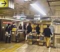 Kamiyacho station - hibiya line - ticket gates - March 2 2018.jpg