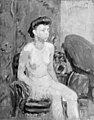 Karl Isakson - Seated Female Nude - KMS3600 - Statens Museum for Kunst.jpg