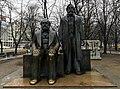 Karl Marx anf Friedrich Engels statue in Berlin.jpg