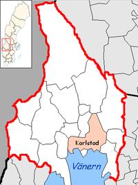 Karlstad Municipality in Värmland County.png