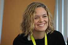 Katherine Maher at Wikimedia Conference 2016.jpg