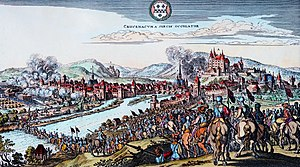 Bad Kreuznach - Capture of Kreuznach by Swedish troops in the Thirty Years' War, 1632.