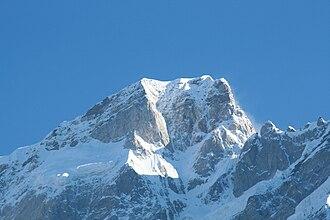 Kedarnath (mountain) - Image: Kedarnath 1