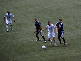 Kenny Miller - Miller in his debut against the San Jose Earthquakes on 22 July 2012