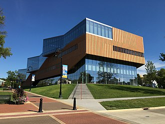 Kent, Ohio - KSU College of Architecture and Environmental Design building, completed in 2016