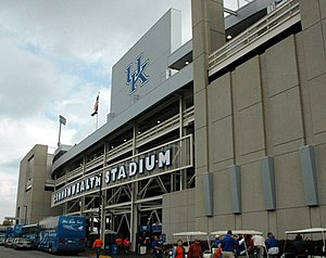 Kroger Field - Image: Kentucky Commonwealth Stadium Exterior