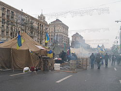 Khreshchatyk Street during Euromaidan.JPG