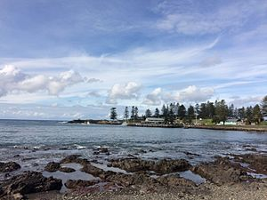 SS Bombo - View of Kiama Harbour, final port of departure of SS Bombo