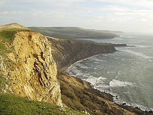 Kimmeridge Ledges - View from the clifftop