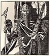 """King Mark of Cornwall"", illustrated by Howard Pyle (1905)"