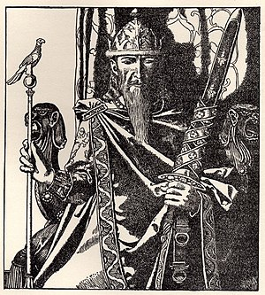 "Mark of Cornwall - ""King Mark of Cornwall"", illustrated by Howard Pyle (1905)"
