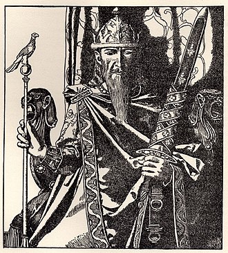"Mark of Cornwall - ""King Mark of Cornwall"", illustrated by Howard Pyle (1905)"