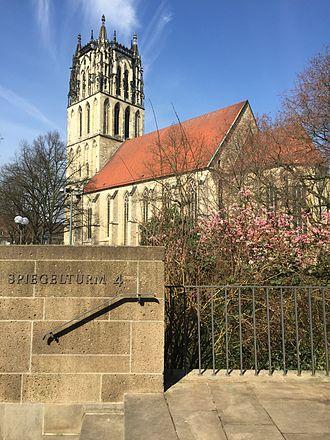 Überwasserkirche - Image: Kirche Liebfrauen Überwasser Münster