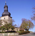 Kirche von der Strasse in Hohenpoelz.jpg