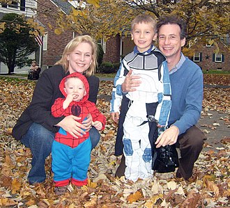 Kirsten Gillibrand - Gillibrand with her husband and sons on Halloween, 2009