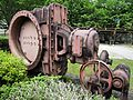 Kiso River Electric Power Museum Miura Dam wash-out valve (Ushio valve) 3.jpg
