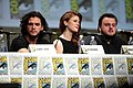 Kit Harrington, Rose Leslie & John Bradley (14588029778).jpg