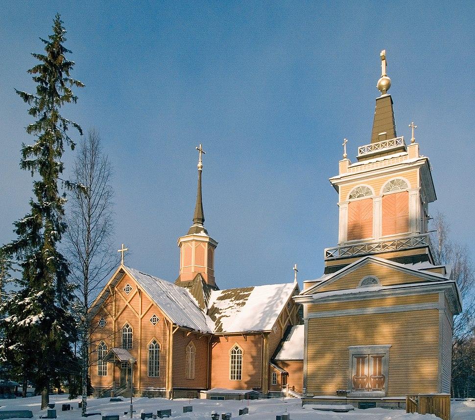 Kivijärvi church 2