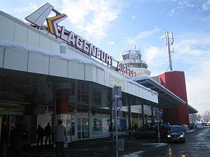 Klagenfurt Airport - Terminal building