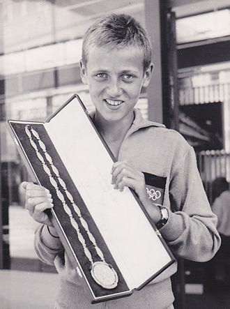 Klaus Zerta - Klaus Zerta at the 1960 Olympics