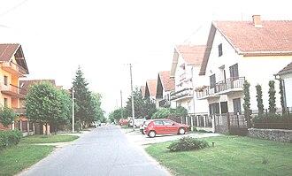 Klisa, Serbia - Street in Klisa