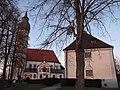 Klosterkirche Andechs am Abend.JPG